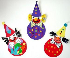 Fasching-Clowns